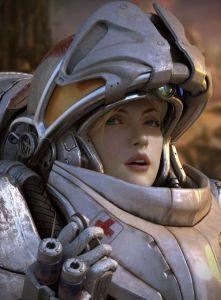 Starcraft Medic by Kim Yong Su